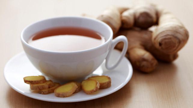 Piping Hot Ginger Tea